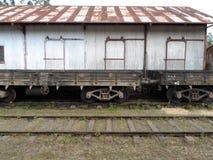Den gammala järnvägen posterar Arkivfoto