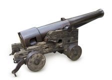 den gammala kanonen kriger Arkivbild