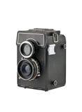 Den gammala klassiska kameran Arkivfoto