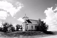 Den gammala kyrkan Royaltyfri Bild