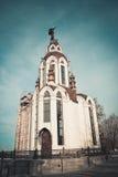 Den gammala kyrkan Royaltyfria Foton