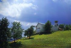Den gammala kyrkan Royaltyfria Bilder