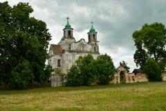 Den gammala kyrkan Royaltyfri Fotografi