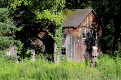 Den gammala ladugården Arkivbild