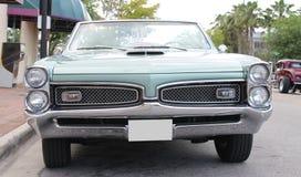 Gammal Pontiac GTO bil Royaltyfri Bild