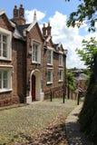 Den gammala prästgården. Spökat hus. Chester. England Arkivbild
