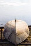 Gammal roddbåt Royaltyfria Bilder