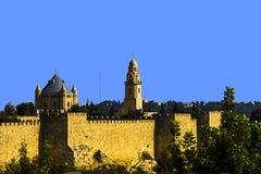 Den gammala staden av Jerusalem, Israel royaltyfri fotografi