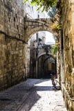 Den gammala staden av Jerusalem, Israel royaltyfri bild