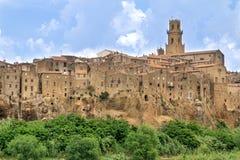 Den gammala staden beskådar Royaltyfri Bild