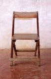 Den gammala stolen beklär Arkivbilder