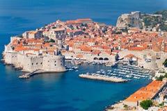 Den gammala townen av Dubrovnik arkivfoton