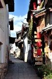 Gammal Town av Lijiang Arkivbild