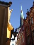 Den gammala townen beskådar Fotografering för Bildbyråer