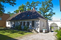 Den gammala townen i fredrikstad (kjørboegÃÂ¥rden), Royaltyfri Fotografi
