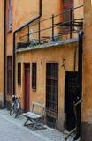 Den gammala townen i Stockholm, Sverige Royaltyfria Bilder