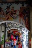 Den gammala townen, Kuching, Sarawak Royaltyfri Foto