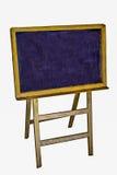 Den gammala träblackboarden Arkivbilder