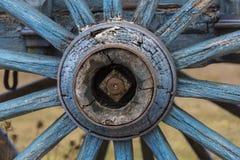 Den gammala vagnen rullar Arkivbilder