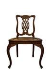 Gammal Wood stol Fotografering för Bildbyråer