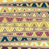 Den geometriska prydnaden, kan vara bakgrunden för gobeläng Royaltyfri Bild