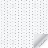 Den geometriska vektormodellen och att upprepa liten diamantform och papper bläddrar effekt på hörn royaltyfri illustrationer