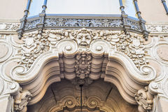 Den Ghirardelli sodavattenspringbrunnen och choklad shoppar den Hollywood blvden, Los Angeles, Kalifornien fotografering för bildbyråer