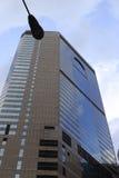 Den glass skyskrapan Arkivbild
