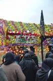 Den globala sörjande ceremonin av Ashura Karbala spelar martyr Commemor Royaltyfria Foton