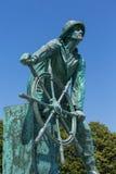 Den Gloucester fiskaren Memorial Arkivbild