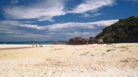 Den gnälliga stranden Arkivbild