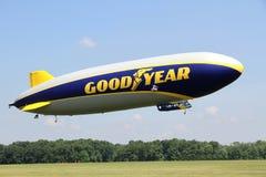 Den Goodyear zeppelinaren NT Arkivbilder