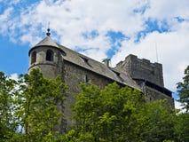 Den Gosting slotten fördärvar Arkivbild