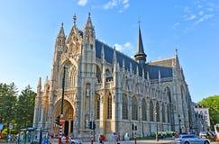 Den gotiska kyrkan Royaltyfri Fotografi