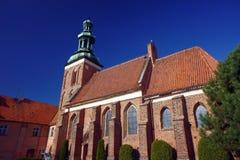 Den gotiska kyrkan av beställningen av den heliga griften Royaltyfri Fotografi