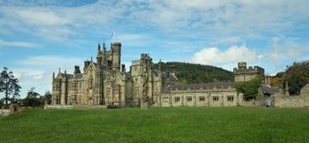 Den gotiska slotten Royaltyfri Fotografi