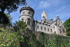 Den gotiska slotten Royaltyfria Foton