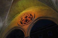 Den gotiska stilarkitekturen Royaltyfria Bilder