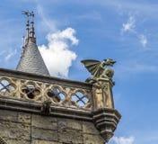 Den gotiska stilen Arkivfoton