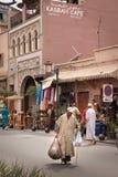 den gottic barcelona för 2008 område barrien kan den platsspain gatan marrakesh morocco Arkivfoto