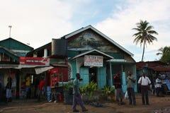 den gottic barcelona för 2008 område barrien kan den platsspain gatan mombasa Arkivfoto