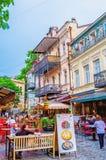 Den gourmet- gatan Royaltyfri Bild