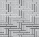 Den gråa stenläggningstenen som är seamless, modell Arkivbild