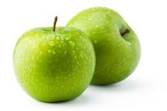 Gröna äpplen Arkivbild