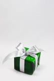 Den gröna gåvan boxas Arkivbilder
