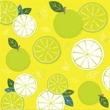 Den gröna limefruktbakgrunden vektor illustrationer