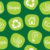 Den gröna miljön och återanvänder Arkivbild