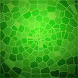 Den gröna ormen flår abstraktion. Royaltyfria Bilder