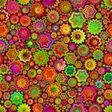 Den gröna rosa färgen plaskar sömlös modellbakgrund Fotografering för Bildbyråer
