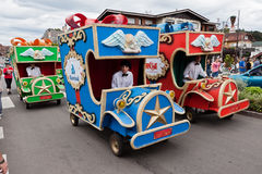 Den Gramado julen ståtar Brasilien Royaltyfria Foton